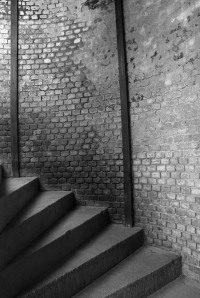 BrickStairwellBW
